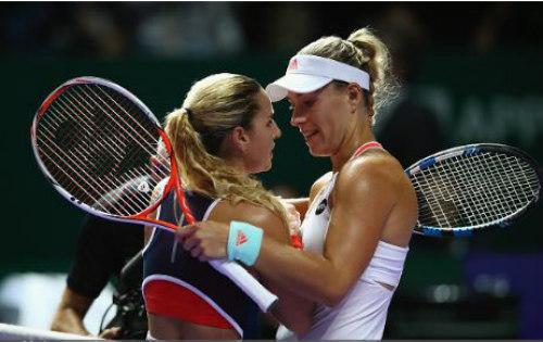 WTA Finals ngày 1: Halep, Kerber thắng trận ra quân - 1