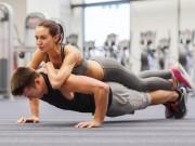 Làm đẹp - 10 bài tập đôi cực hay giúp cặp tình nhân thêm gắn bó