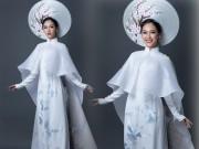 """Chi tiết """"độc lạ"""" trên quốc phục VN ở Hoa hậu quốc tế 2016"""