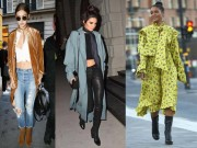 Thời trang - Khi giao mùa hãy mặc đồ như Kendall, Gigi hay Rihanna