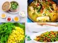 Thực đơn các món ngon thanh mát cho bữa cơm đầu tuần
