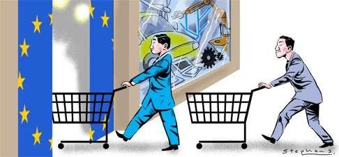 Trung Quốc và những vụ thâu tóm khổng lồ tại châu Âu - 1