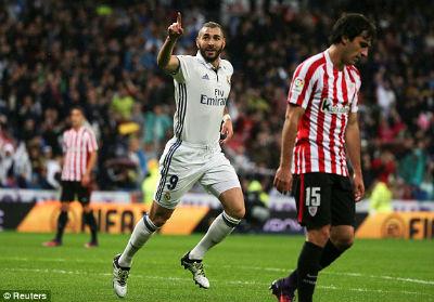 Chi tiết Real Madrid - Bilbao: Gục ngã trước áp lực (KT) - 3
