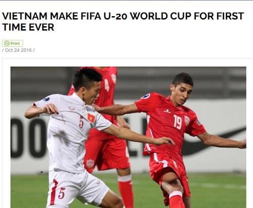FIFA chúc mừng, báo thế giới khen kỳ tích World Cup của U19 VN - 1