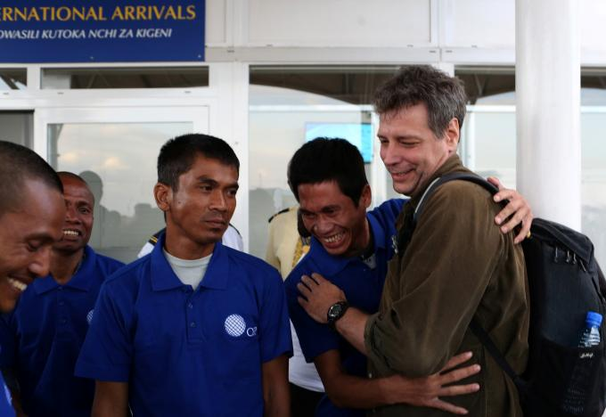 Cướp biển Somalia thả con tin người Việt sau gần 5 năm - 3