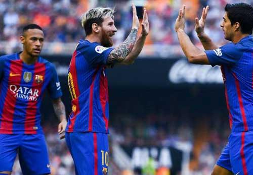 Tiêu điểm vòng 9 Liga: Đỉnh cao Messi, vực sâu Ronaldo - 1