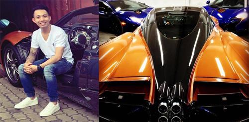 Bộ ba siêu xe đắt nhất của Minh 'Nhựa' chỉ... chùm mền? - 1