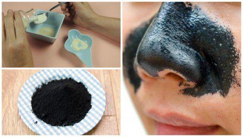 Cách loại trừ mụn đầu đen trên mũi bằng than hoạt tính - 2