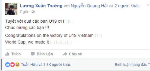 """U19 Việt Nam: Hàng triệu fan """"phát cuồng"""" vì kỳ tích World Cup - 1"""