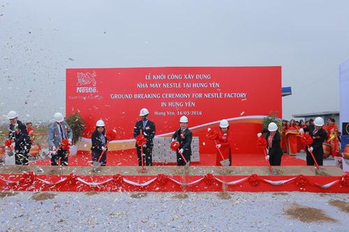 Nestlé đầu tư 70 triệu USD xây nhà máy mới tại miền Bắc - 1