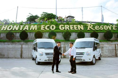 Ra mắt đội xe đưa đón tiêu chuẩn Limousine tại Resort Hòn Tằm - 1