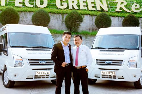 Ra mắt đội xe đưa đón tiêu chuẩn Limousine tại Resort Hòn Tằm - 2