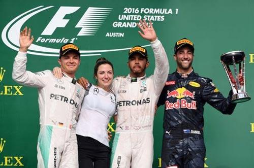 F1, US GP: Hamilton không để Rosberg nhàn hạ - 2