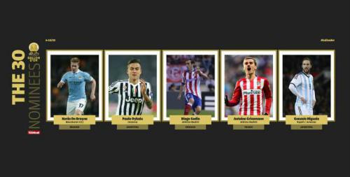 Ronaldo dẫn đầu 5 ứng viên đầu tiên tranh QBV 2016 - 4