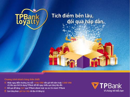 Tích điểm đổi quà, trao tới tận nhà cùng TPBank - 1