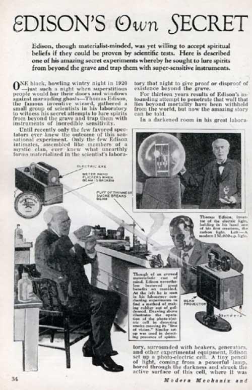 """Bí mật điện thoại """"nói chuyện với người chết"""" của Edison - 4"""