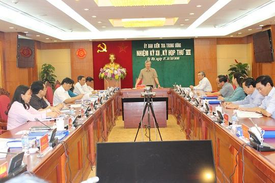Đề nghị kỷ luật cảnh cáo cựu Bộ trưởng Vũ Huy Hoàng - 1