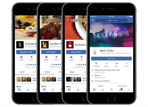 Facebook cập nhật hàng loạt chức năng mới trên iOS - 3
