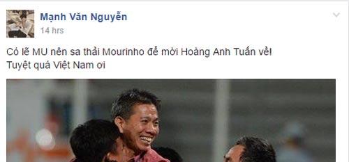 'MU nên sa thải Mourinho, mời HLV Hoàng Anh Tuấn về dẫn dắt' - 2
