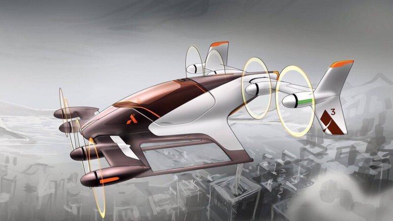 "Airbus ""thai nghén"" xe taxi tự bay Vahana - 1"