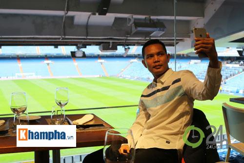Cầu thủ phong trào Việt Nam làm khách VIP ở Real Madrid - 1