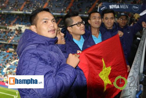 Cầu thủ phong trào Việt Nam làm khách VIP ở Real Madrid - 11