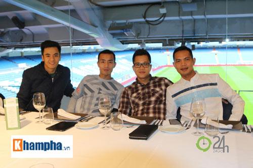 Cầu thủ phong trào Việt Nam làm khách VIP ở Real Madrid - 2