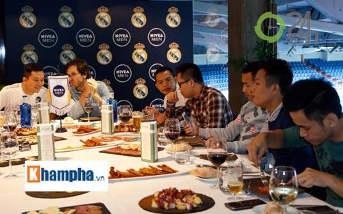 Cầu thủ phong trào Việt Nam làm khách VIP ở Real Madrid - 5
