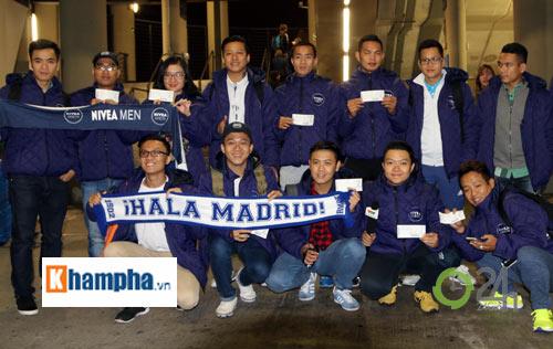 Cầu thủ phong trào Việt Nam làm khách VIP ở Real Madrid - 8