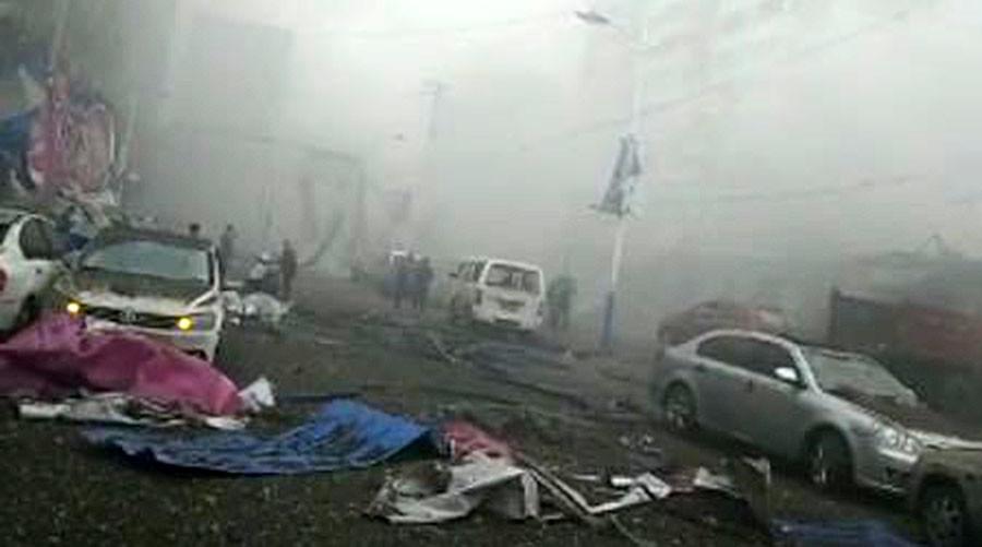 TQ: Nổ kinh hoàng khiến 7 người chết, 95 người bị thương - 2