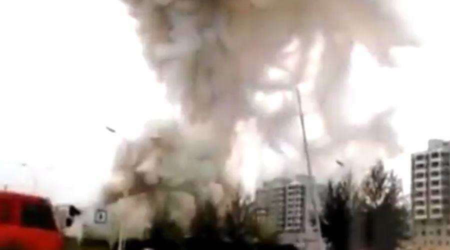 TQ: Nổ kinh hoàng khiến 7 người chết, 95 người bị thương - 1