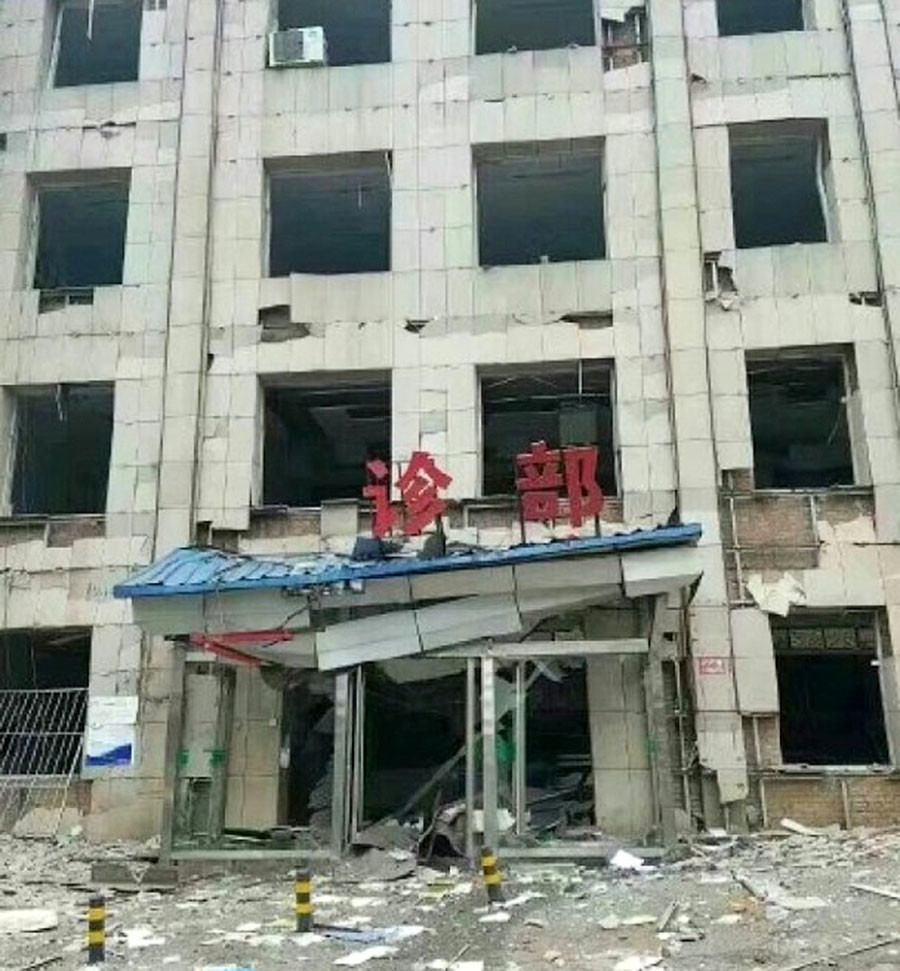 TQ: Nổ kinh hoàng khiến 7 người chết, 95 người bị thương - 7