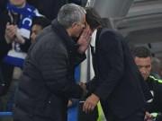 Bóng đá - Conte ăn mừng máu lửa, Mourinho khó chịu ra mặt