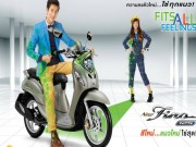 Yamaha Fino mới giá 29 triệu đồng khiến nữ sinh mê