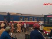 Video An ninh - Tai nạn đường sắt thảm khốc ở HN, 7 người thương vong