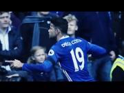 Đòn trừng phạt của Diego Costa