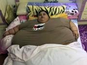 """Phi thường - kỳ quặc - """"Nữ hoàng"""" Ai Cập béo nhất quả đất không rời nhà suốt 25 năm"""