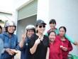 Thu Minh mang 700 triệu tiền quyên góp đến miền Trung