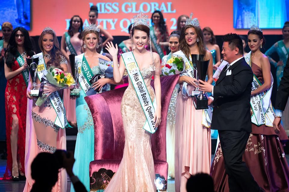 Ngọc Duyên bất ngờ đăng quang Nữ hoàng sắc đẹp toàn cầu - 1