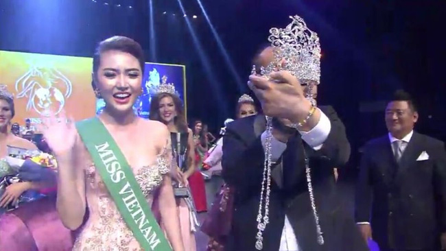 Ngọc Duyên bất ngờ đăng quang Nữ hoàng sắc đẹp toàn cầu - 2