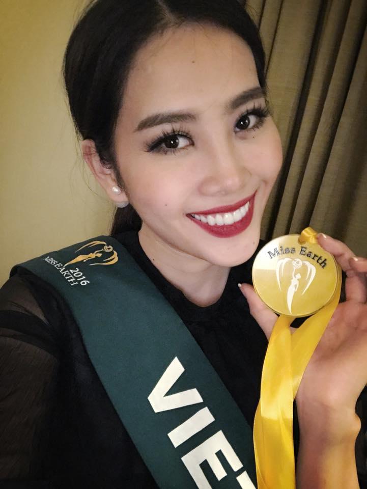 Nam Em giành giải vàng Hoa hậu ảnh Miss Earth - 1