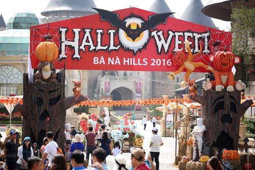 Bà Nà Hills náo nhiệt với mùa Halloween độc đáo - 1