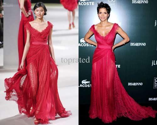 """Mỹ nữ Canada xôn xao thảm đỏ với váy """"mặc như không"""" - 6"""