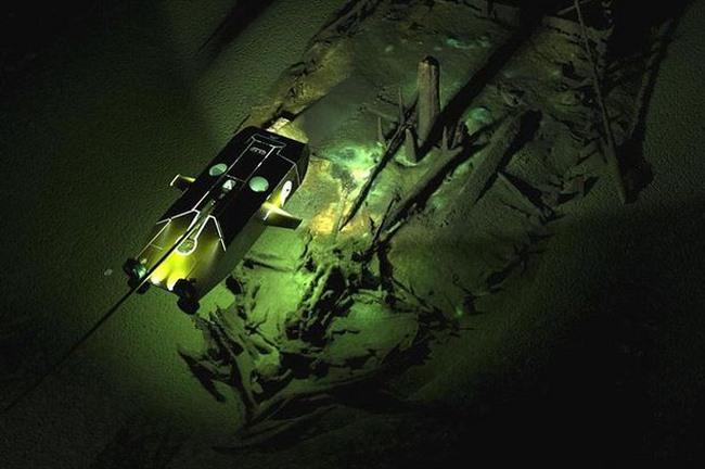 Tìm thấy đội tàu ma từ thời Trung Cổ dưới đáy Biển Đen - 1