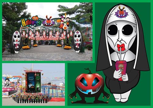 Halloween Party 2016 - lễ hội hóa trang đầy màu sắc tại hệ thống Thỏ Trắng - 2
