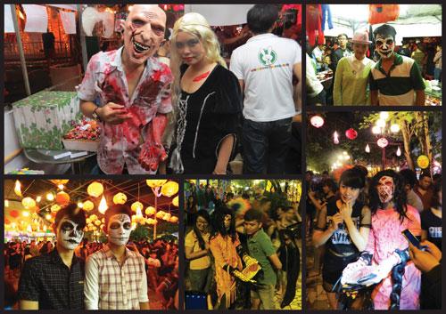 Halloween Party 2016 - lễ hội hóa trang đầy màu sắc tại hệ thống Thỏ Trắng - 5