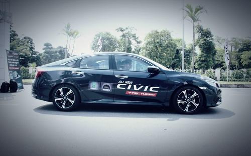 Trưng bày và trải nghiệm các mẫu xe Honda Ô tô mới nhất tháng 11/2016 - 5