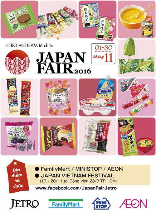 30 ngày mua sắm cùng Japan Fair 2016 - 1
