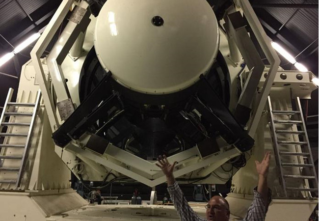 Mỹ nhận siêu kính thiên văn, sẵn sàng chiến tranh vũ trụ - 1