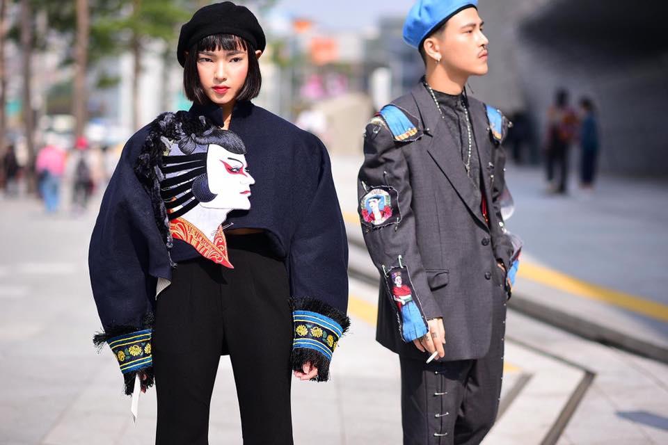 """Hot girl Châu Bùi 1m60 tự tin """"áp đảo"""" dàn mẫu 1m90 - 9"""